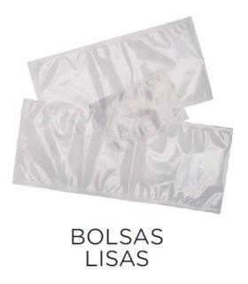 Paquete 100 uds Bolsas de Vacío Lisas de 250x400 VACIO15