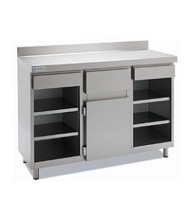 Mueble Cafetero 2 estantes 2025x600mm Edenox
