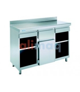 Mueble Cafetero 1 estante 1500x600mm Edenox