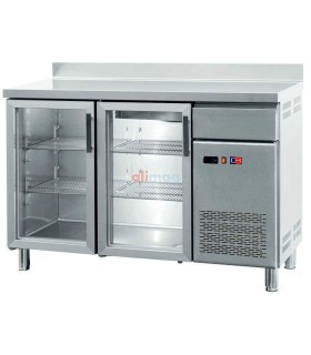 Frente Mostrador Expositor Refrigerado con 2 Puertas de cristal FMCH-150V
