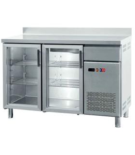 Frente Mostrador Expositor Refrigerado con 4 Puertas de Cristal FMCH-250V