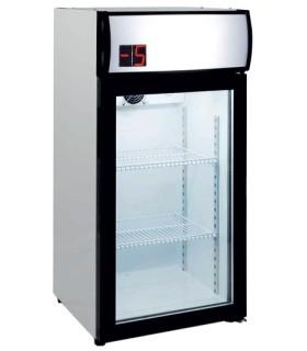 Armario Expositor Refrigerado 80 litros Subcero de 470X465X955h mmSZ80L